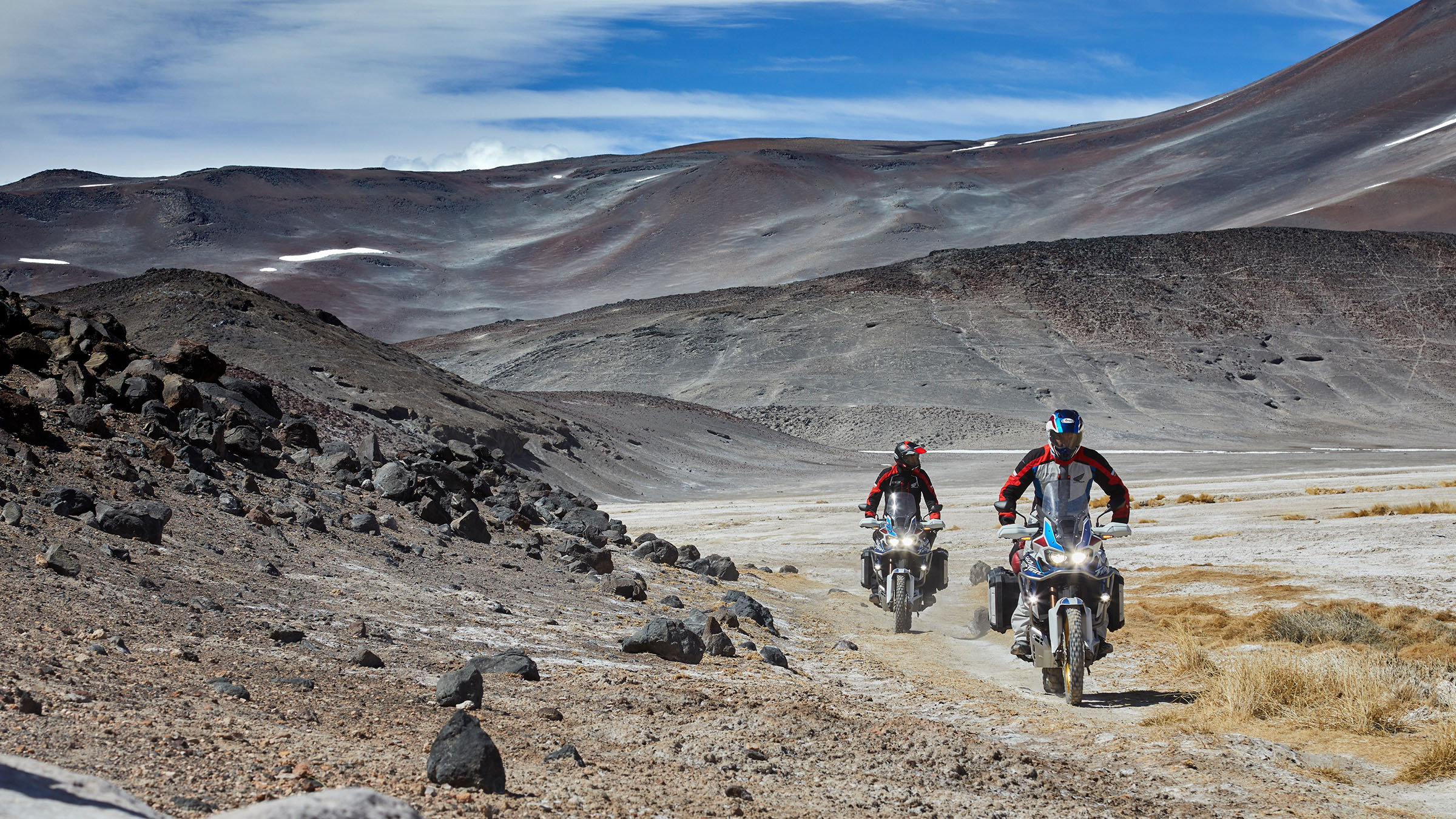 Africa Twin riders