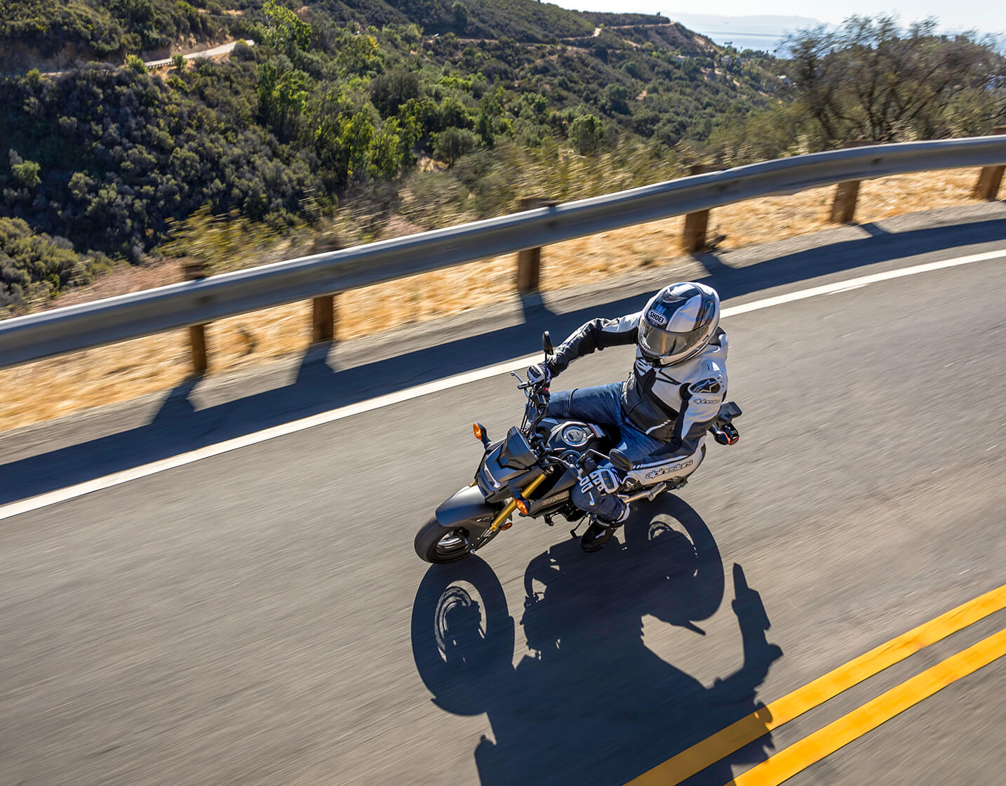 Grom demo rides