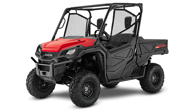 Side By Side >> 2020 Pioneer 1000 Overview Honda